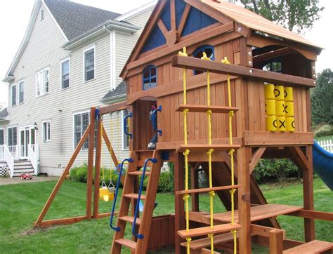 backyard wooden playsets playsets aren t always easy to assemble