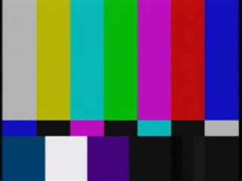test pattern beep television color bars youtube