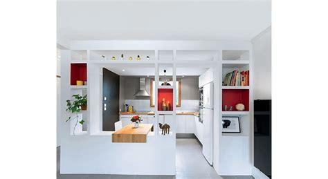 mod鑞e de cuisine ouverte cuisine ouverte une r 233 novation moderne et fonctionnelle