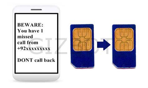 how to make a clone of sim card missed calls telecom menace sim card cloning 90