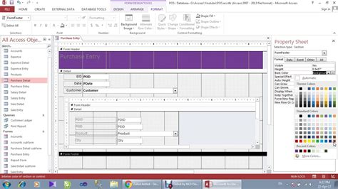 microsoft access point of sale template enom warb co