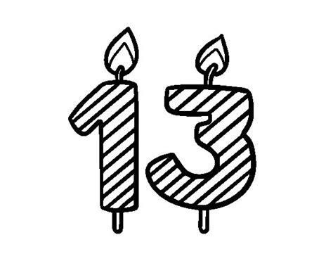 13 Years Old Coloring Page Coloringcrew Com 13 Coloring Book Images Of