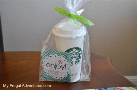 Starbucks 500 Gift Card - teacher gift idea starbucks gift cards