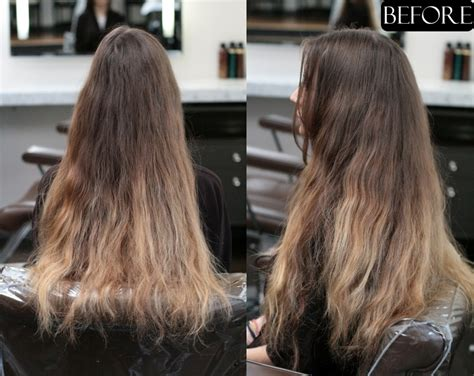 layers all over long hair ombre hair color jonathan george