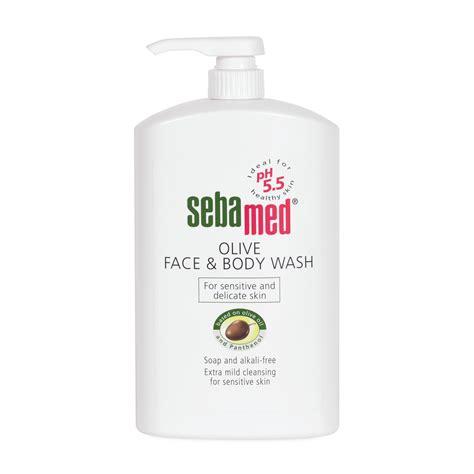 Sebamed 1ltr sebamed olive wash 1l sebamed