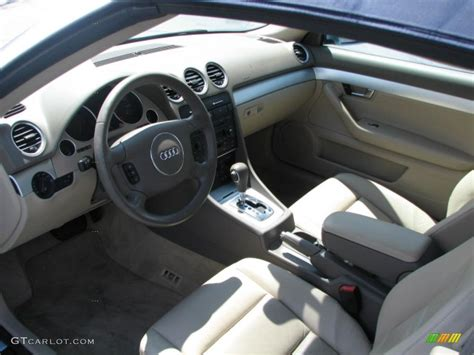 2006 Audi A4 Interior by Beige Interior 2006 Audi A4 1 8t Cabriolet Photo 39768318