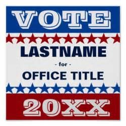 vote poster template custom caign template poster zazzle