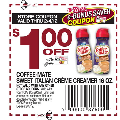 Coffee Mate Coupons   2017   2018 Cars Reviews