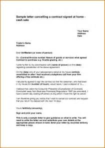 Void Contract Letter Sle 10 How To Write A Letter To Cancel A Policy Lease Template
