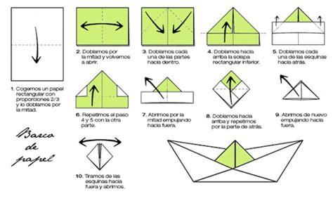 como hacer un barco origami de papel barcos de papel plumyx