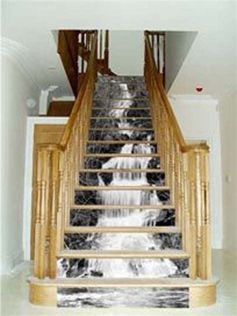 stairway decor 20 diy wallpapered stair risers ideas to give stairs some