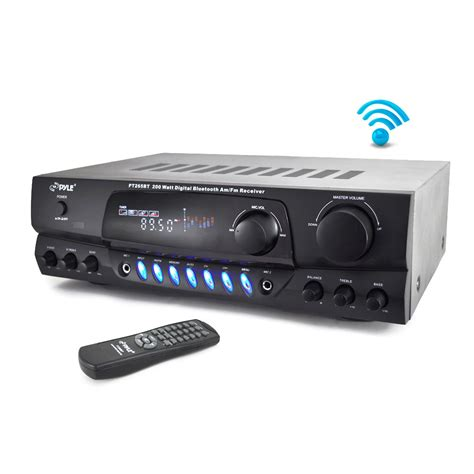 bluetooth 200w dj home theater digital stereo receiver