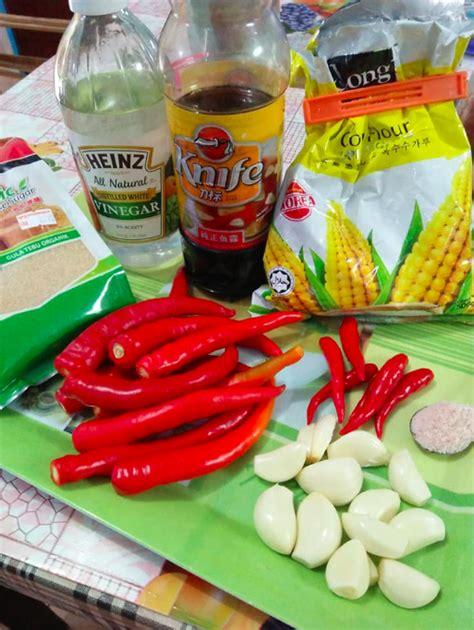 resipi sos cili thai homemade rasa sama macam  restoran