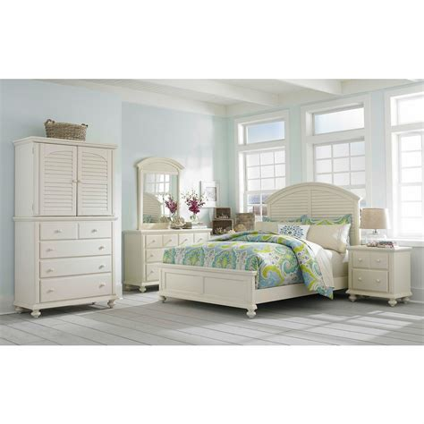 Broyhill King Bedroom Set by Broyhill Seabrooke 6 California King Panel Bedroom Set