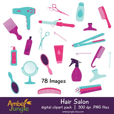 Free Hairstyle Tools by Hair Salon Clipart Haircut Stylist Clip Hair Dresser