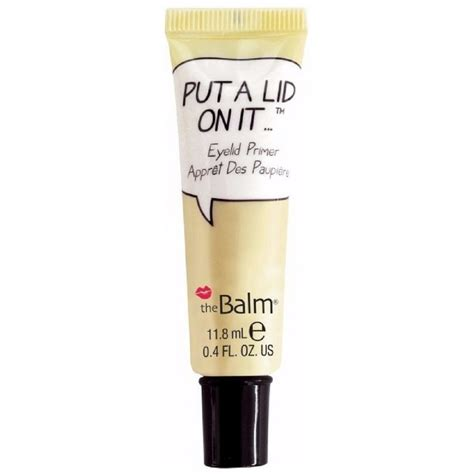 thebalm put a lid on it eyelid primer 11 8 ml