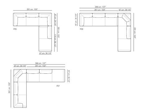 dwg divano papoose divano angolare by arflex design luca nichetto