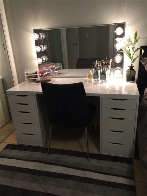 vanity mirror with lights ikea 25 b 228 sta ikea makeup vanity id 233 erna p 229