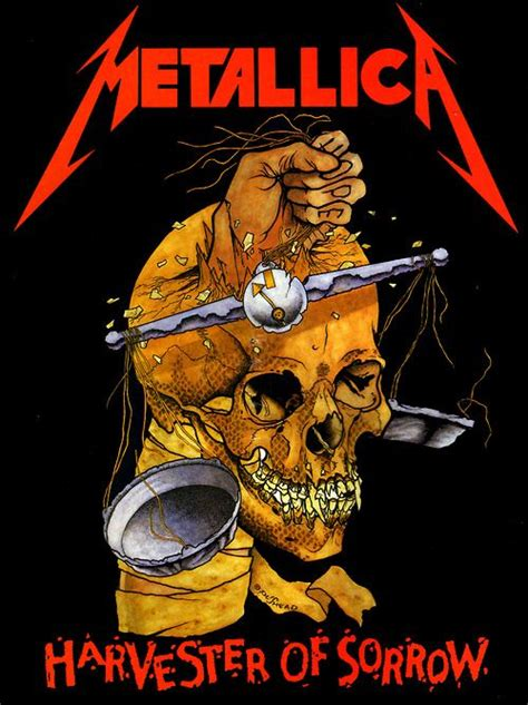 metallica harvester of sorrow 25 best ideas about metallica on pinterest metallica