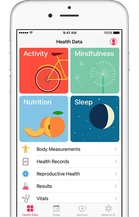 app iphone use the health app on your iphone or ipod touch apple