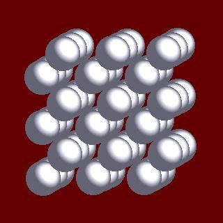webelements periodic table chromium crystal structures