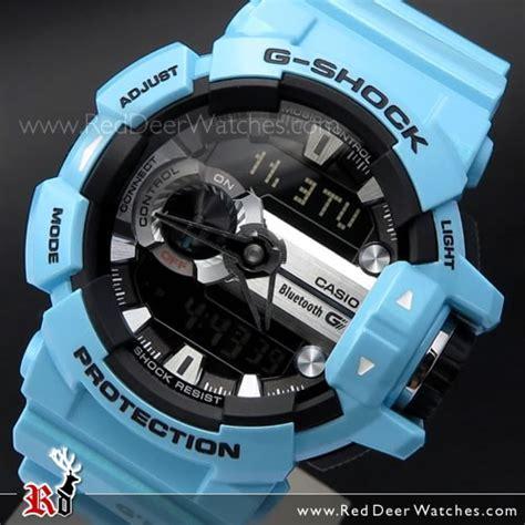G Shock Gba 400 Blue Glossy buy casio g shock bluetooth g mix 200m shiny