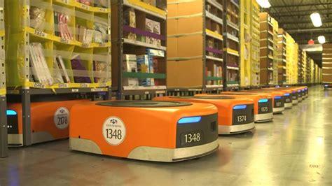 amazon robot how robots helped create 100 000 jobs at amazon