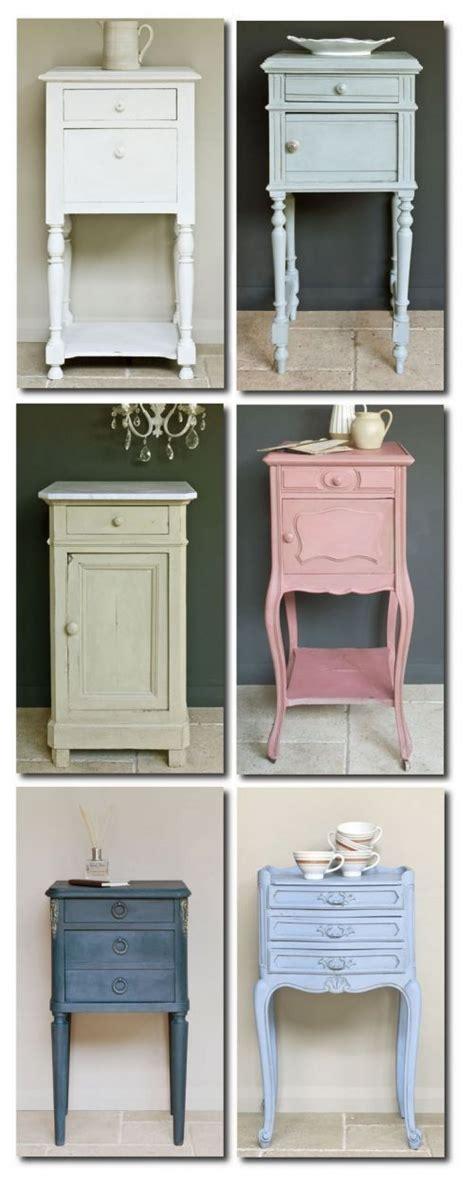 muebles pintados con chalk paint sloan mesillas de noche recicladas con chalk paint chalk paint