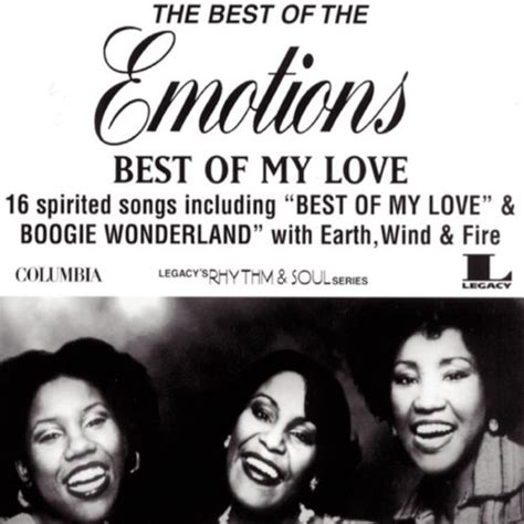 best of my emotions best of my the best of the emotions 1996 the
