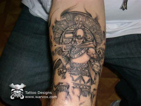 inca tattoo prehispanic emperor aztec tattoos aztec mayan