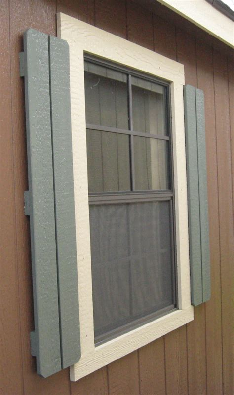Shed Window Trim by Wood Sheds With Deluxe Trim Package