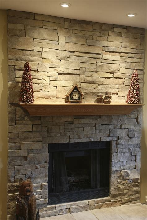 Stones For Fireplace by Fireplaces Exteriors
