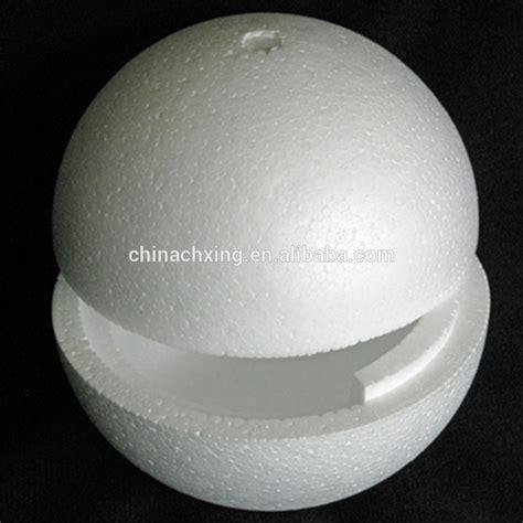 styrofoam balls hollow half styrofoam balls sphere for school project decoration buy half styrofoam balls