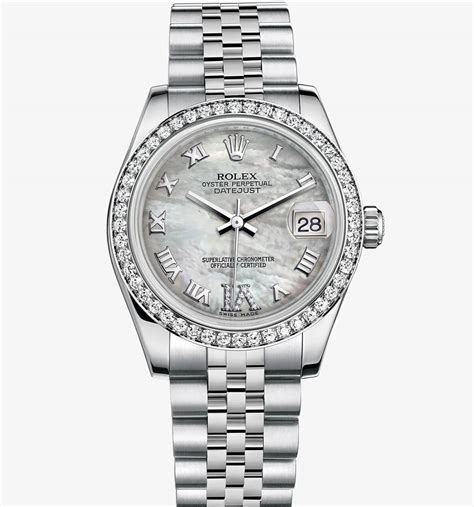 Rolex Datejust Combi Gold For rolex datejust 31 white rolesor combination of 904l steel and 18 ct white