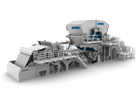 Paper Machinery - andritz successfully starts up tissue machine with steel
