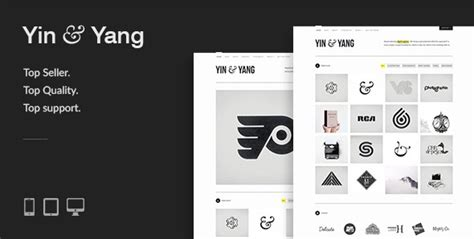 themeforest yin yang yin yang modern responsive clean creative wordpress
