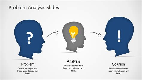 design is a solution to a problem problem analysis solution slides for powerpoint slidemodel