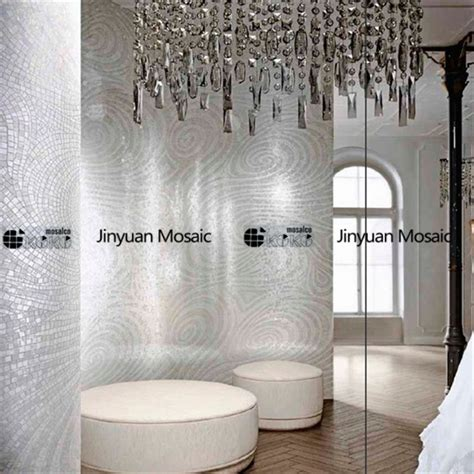 silver mosaic tiles bathroom jy m ab03 abstract mosaic painting silver bathroom tile handmade glass mosaic art jy