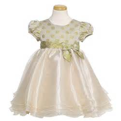 bonnie jean toddler gold dot christmas party dress toddler