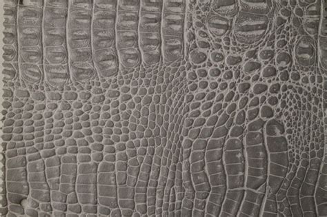 Alligator Upholstery Fabric by Alligator 3266 Whitsilver Faux Leather For Upholstery And Interior Design By Ffc Modern