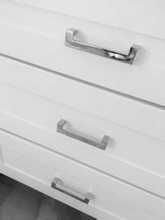 chrome handles for kitchen cabinets polished chrome bow cabinet handles square profile