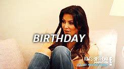 kim kardashian birthday gif gif kim kardashian this sucks sorry happy bday bby ily