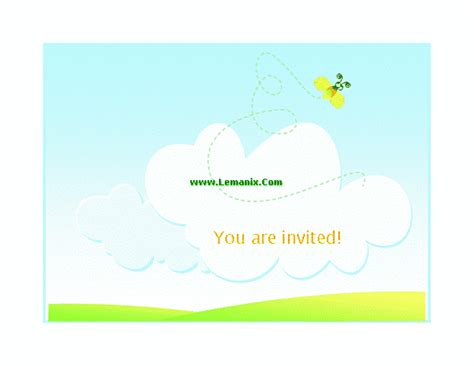 Summer Barbeque Invitation Microsoft Publisher Templates Microsoft Publisher Invitation Templates