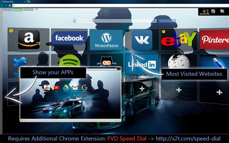 theme google chrome need for speed chrome themes for fvd speed dial