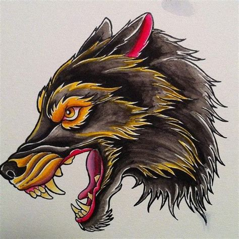 american traditional wolf tattoos best 25 wolf traditional ideas on