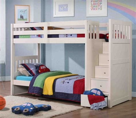 Bunk Beds For Boys With Stairs 17 Best Ideas About Boy Bunk Beds On Pinterest Bunk Bed Trundle Beds And Trundle Bunk Beds