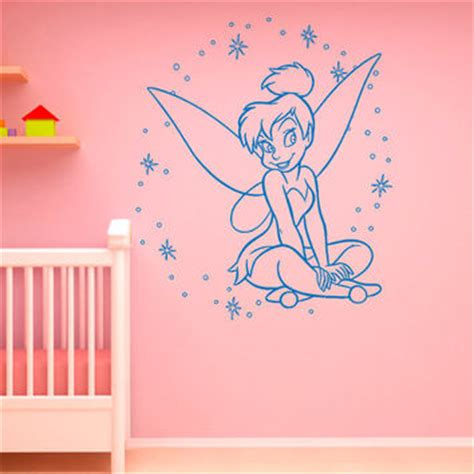 Disney Wall Decals For Nursery Shop Tinkerbell Wall Decals On Wanelo