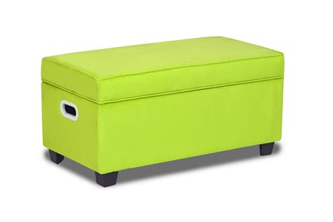 kids bench storage zippity kids jack storage bench sour apple green at