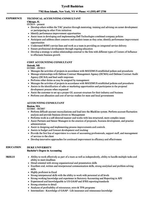 consulting resume exles business consultant resume