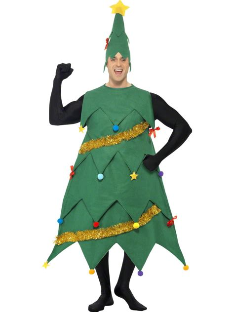 adult deluxe christmas tree costume 33301 fancy dress ball